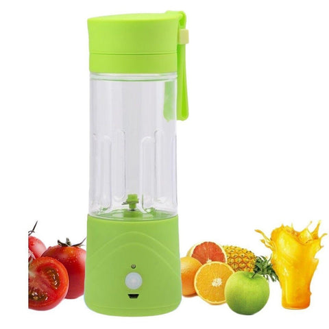 LOHOME Portable USB Electric Juicer Blender Drink Bottle Smoothie Maker Ice C... - Chickadee Solutions - 1
