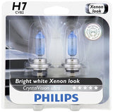 Philips H7 CrystalVision Ultra Upgrade Headlight Bulb 2 Pack - Chickadee Solutions - 1