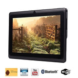 Tagital 7'' Quad Core Android 4.4 KitKat Tablet PC HD Screen 1024x600 8GB Blu... - Chickadee Solutions - 1