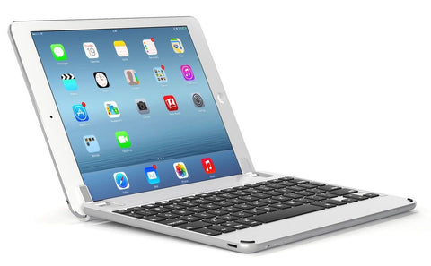 BrydgeAir Bluetooth Backlit Aluminum Keyboard for iPad Air iPad Air 2 & iPad ... - Chickadee Solutions - 1