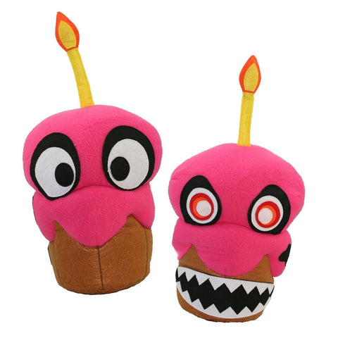 "Five Nights at Freddy's Nightmare Cupcake Reversible 16"" Plush - Chickadee Solutions - 1"