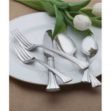 Waterford Mont Clare 18/10 Stainless Steel 65-Piece Set Service for 12 - Chickadee Solutions