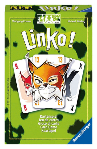Ravensburger Linko Card Game Standard Packaging Ravensburger - Chickadee Solutions - 1