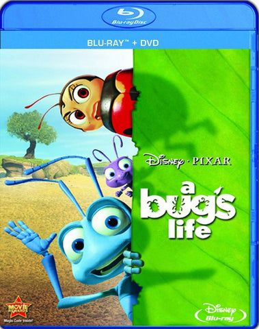 A Bug's Life (Two-Disc Blu-ray/DVD Combo) - Chickadee Solutions