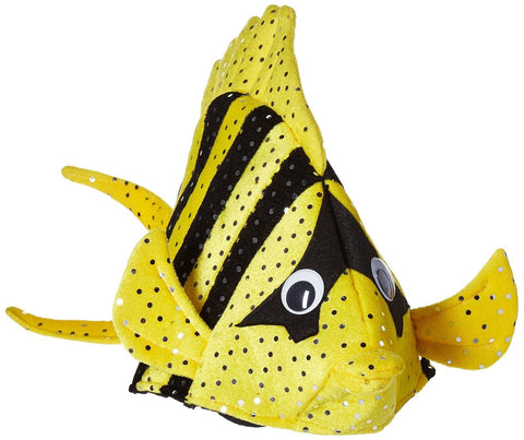 Luau Fish Hats (asstd colors) Party Accessory (1 count) (1/Pkg) - Chickadee Solutions - 1