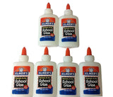 Elmer's Washable School Glue 4 Fl Oz / 118 Ml (Pack of 6) Pack Of 6 - Chickadee Solutions - 1