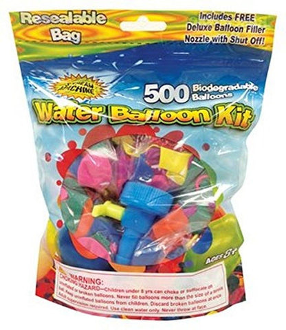 Water Sports Water Balloon Refill Kit 500-Pack 1 - Chickadee Solutions