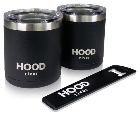 Hood River Stainless Steel Insulated Beer Cup Cocktail Tumbler Low Ball With ... - Chickadee Solutions - 1