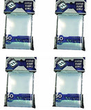 BUNDLE of 200: Clear Sleeves: Standard Card Game Pack (50 Sleeves/Pack - 4 Pa... - Chickadee Solutions - 1