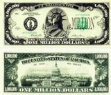 Set of 100-Million Dollar Bills-Very Realistic Looking-Same Size As Real Mone... - Chickadee Solutions