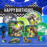 Jurassic World Party Supplies - Complete Kit for 16 - Chickadee Solutions