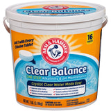 Arm & Hammer Clear Balance Pool Maintenance Tablets 16 Count 1 - Chickadee Solutions - 1