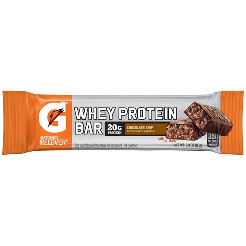 Gatorade Protein Bar Chocolate Chip 2.8 OZ (Pack of 24) - Chickadee Solutions