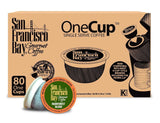 San Francisco Bay OneCup Organic Rainforest Blend 80 Single Serve Coffees - Chickadee Solutions - 1