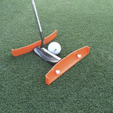 TIBA Putt - Putting Aid for Golf - Portable Golf Putting Alignment and Aim Pr... - Chickadee Solutions - 1