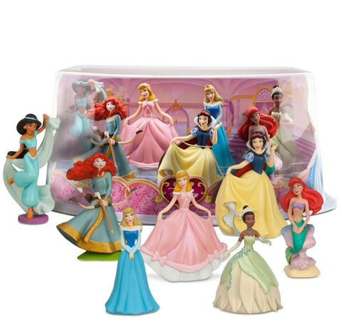 Disney Princess Mini-Figure Play Set #1 - Chickadee Solutions - 1