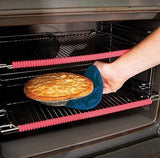 Oven Rack Guard Silicone (2 Pack) Oven Guard Liner Height Resistant for Burn ... - Chickadee Solutions - 1