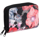 Buxton Womens RFID Identity Safe Card Wizard Wallet Floral - Chickadee Solutions