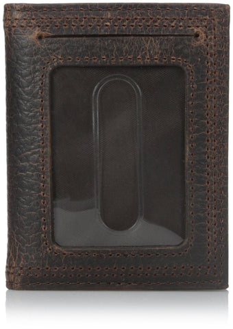 Ariat Men's Rowdy Bifold Money Brown One Size - Chickadee Solutions - 1