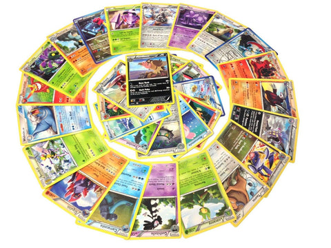 25 Rare Pokemon Cards with 100 HP or Higher (Assorted Lot with No Duplicates) - Chickadee Solutions
