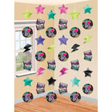 "Amscan Awesome 80's Party String Decorating Kit (6 Piece) Multi Color 12 x 6.8"" - Chickadee Solutions"