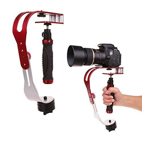 AFUNTA Pro Handheld video Camera Stabilizer Steady Perfect for GoPro Cannon N... - Chickadee Solutions - 1