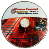 Recovery Boot Password Reset CD - Works with Windows 7 / XP / 2000 / 98 - NEW... - Chickadee Solutions - 1