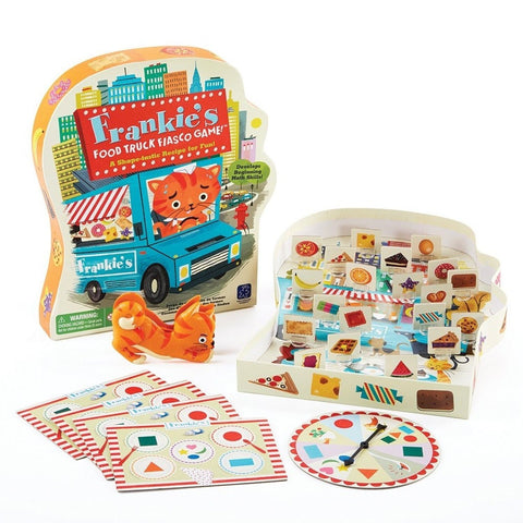 EDUCATIONAL INSIGHTS FRANKIE'S FOOD TRUCK FIASCO GAME - Chickadee Solutions - 1