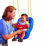 Little Tikes 2-in-1 Snug 'n Secure Swing Blue Frustration-Free Packaging - Chickadee Solutions - 1