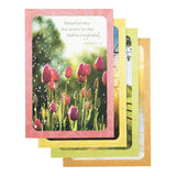 DaySpring Sympathy Boxed Greeting Cards w Embossed Envelopes - Serenity 12 Co... - Chickadee Solutions - 1