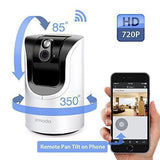 Zmodo 1.0 Megapixel 1280 x 720 Pan & Tilt Smart Wireless IP Network Security ... - Chickadee Solutions - 1