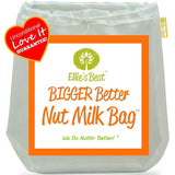 "Pro Quality Nut Milk Bag - Big 12""X12"" Commercial Grade - Reusable Almond Mil... - Chickadee Solutions - 1"
