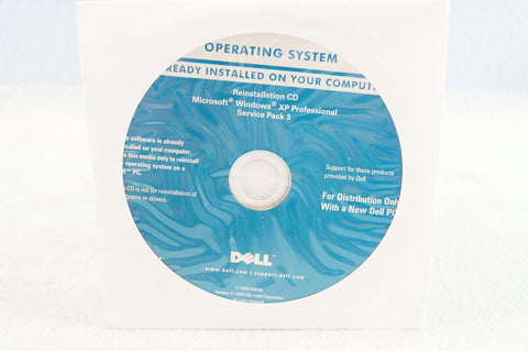 Dell Operating System Reinstallation CD Driver Microsoft Windows XP Professio... - Chickadee Solutions - 1