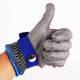 Safety Cut Proof Stab Resistant Stainless Steel Metal Mesh Butcher Glove Size... - Chickadee Solutions - 1
