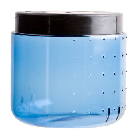 BearVault Bear Canister Transparent Blue 440cu in - Chickadee Solutions