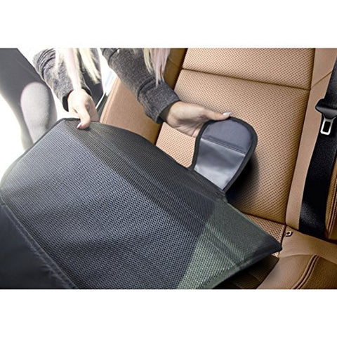 car seat protector by drive auto products best protection for child baby chickadee. Black Bedroom Furniture Sets. Home Design Ideas