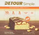 Detour Simple Bars Caramel Peanut 9 Count - Chickadee Solutions - 1