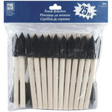 Loew Cornell 842 25-Piece Foam Brush Set 1-Inch - Chickadee Solutions