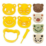 CuteZCute Animal Friends Food Deco Cutter and Stamp Kit CuteZCute - Chickadee Solutions - 1