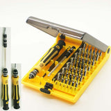 JACKLY 45 in 1 Professional Portable Opening Tool Compact Screwdriver Kit Set... - Chickadee Solutions - 1