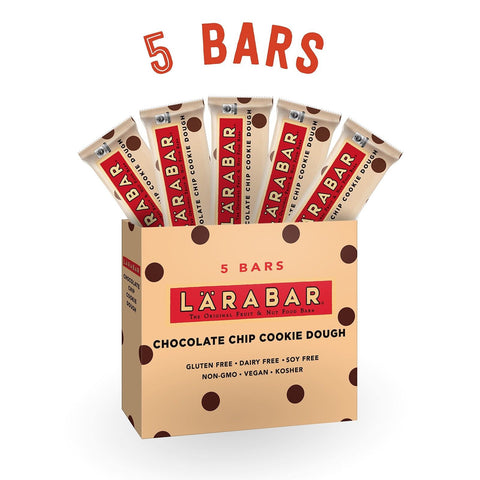 Larabar Gluten Free Snack Bars Chocolate Chip Cookie Dough 1.6 Ounce Bars (5 ... - Chickadee Solutions - 1