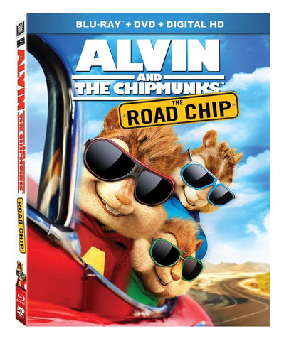 Alvin and the Chipmunks: The Road Chip [Blu-ray] - Chickadee Solutions