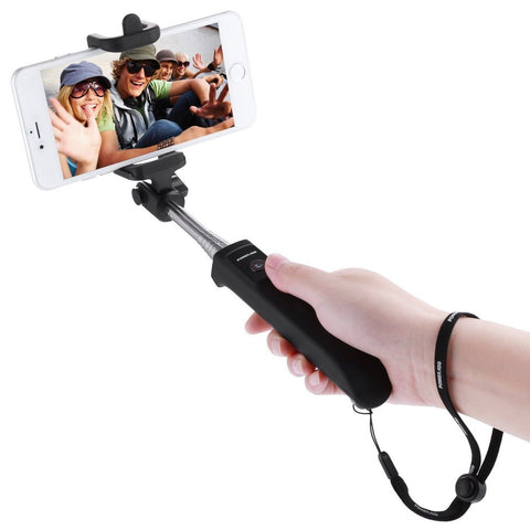 Poweradd 2nd Gen Bluetooth Selfie Stick Self-portrait Monopod with Built-in R... - Chickadee Solutions - 1