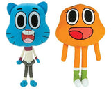 AMAZING WORLD OF GUMBALL 2 PIECE STUFF TOY 8 INCH SET - Chickadee Solutions