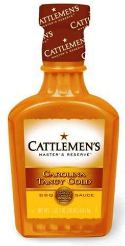 Cattlemen's Barbecue Sauce Carolina Tangy Gold 18-ounce Plastic Bottles - Chickadee Solutions