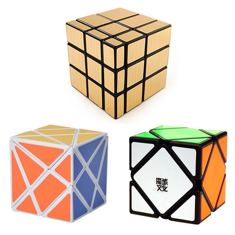 Popular Magic Cube Set - Included Fluctuation Angle Puzzle Cube - MoYu Skewb ... - Chickadee Solutions - 1