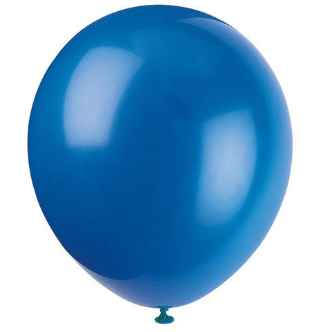 "12"" Latex Royal Blue Balloons 72ct 72 Count - Chickadee Solutions"