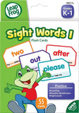 LeapFrog Sight Words I Flash Cards for Grades K-1 Pack of 56 (19421) - Chickadee Solutions