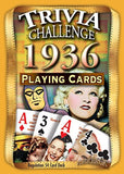 1936 Trivia Playing Cards 80th Birthday or 80th Anniversary Gift - Chickadee Solutions - 1