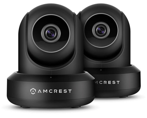 2-Pack Amcrest ProHD 1080P WiFi/Wireless IP Security Camera IP2M-841 (Black) - Chickadee Solutions - 1